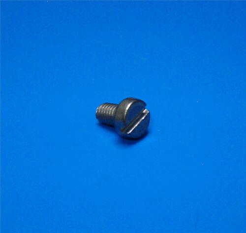 Ni Zylinderkopfschraube M 2,5 x 5  mit Schlitz St DIN 84