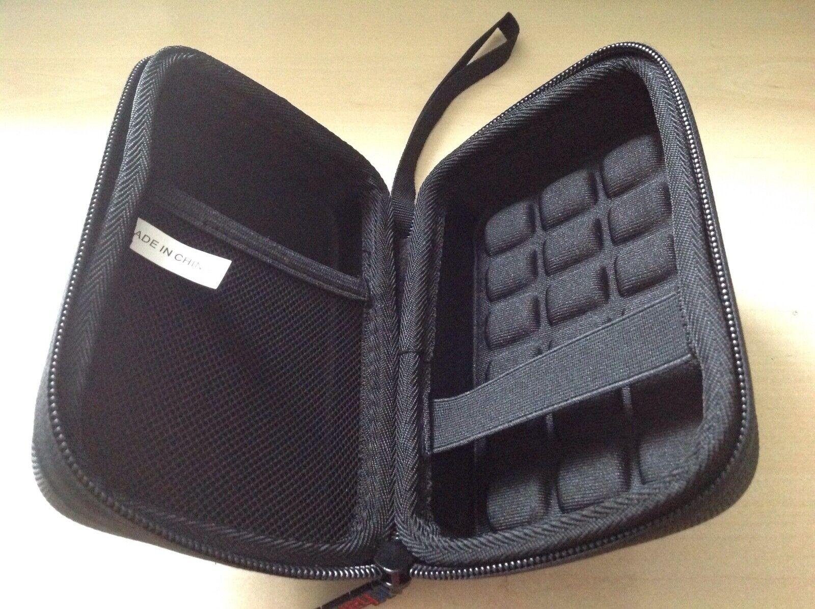 Black Hard Shell Carry Case For Kodak Printomatic Digital Print Camera