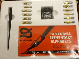 Speedball-Lettering-Set-No-2-Basics-Calligraphy-New