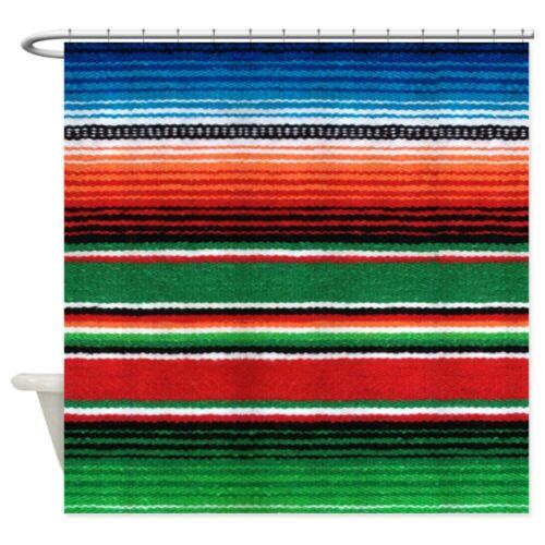 "69/""x70/"" 793741158 CafePress Mexican Serape Decorative Fabric Shower Curtain"