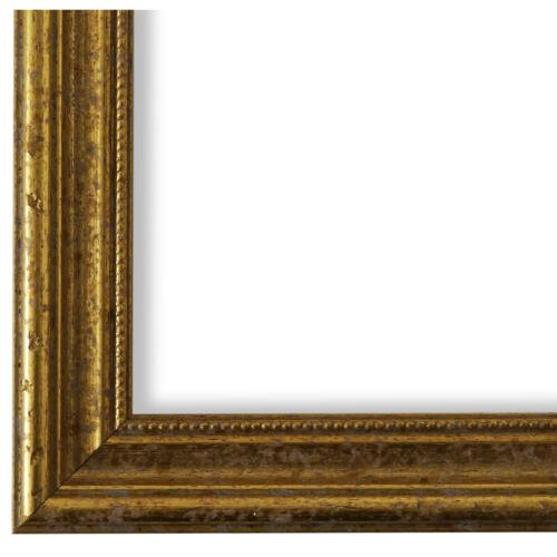 Bilderrahmen Gold Holz Livorno 2,7-40x40 40x50 40x60 50x50 50x60 60x60