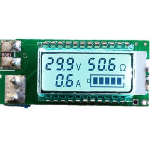 18650 26650 Digital Lithium Li-ion Tester Meter Voltage//Amp//Ohm//Capacity AHS