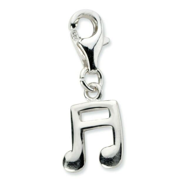 Christopher Medal Click-On Lobster Clasp Charm Pendant Amore La Vita Sterling Silver St