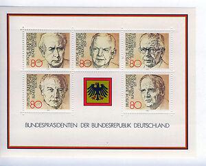 ALEMANIA-RFA-WEST-GERMANY-1982-MNH-SC-1384-Presidents