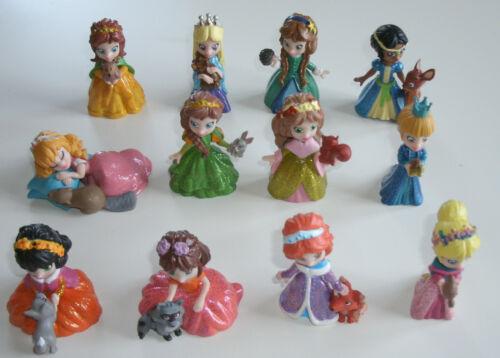 DeAgostini Magiki Prinzessinnen Princesses Komplettes Set alle 12 Figuren  NEU