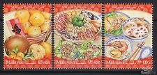 [SS] Malaysia 2017 Festival Food Series Chinese STAMP SET