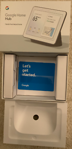 Google-Home-Hub-Smart-Assistant-BOX-ONLY-with-manual-inserts-FREE-SHIPPING