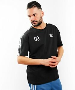 Original-Adidas-Mens-Trefoil-Team-Tees-Crew-Neck-Retro-T-Shirt-XS-S-M-L-XL