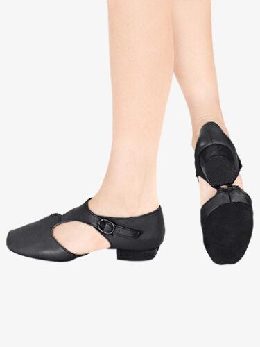 Jazz Shoes Grecian Sandals Black Pink