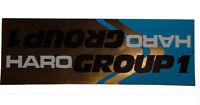 Haro - Group 1 - Bmx Frame Sticker - '80s Old School Freestyle Bmx Decal