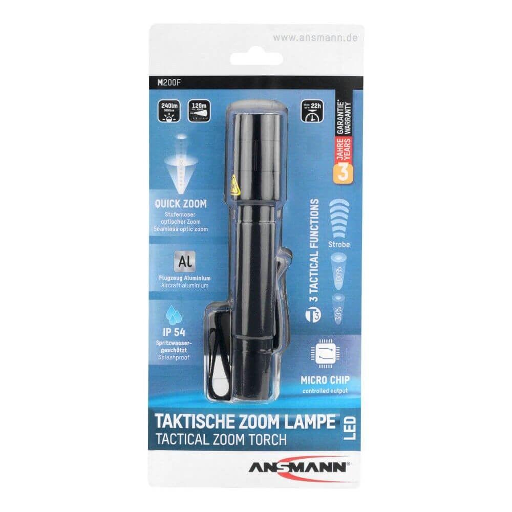 Ansmann Future m200f m200f m200f 1600-0173 accéder professionnel-Lampe de poche 5w-DEL 7d69ea