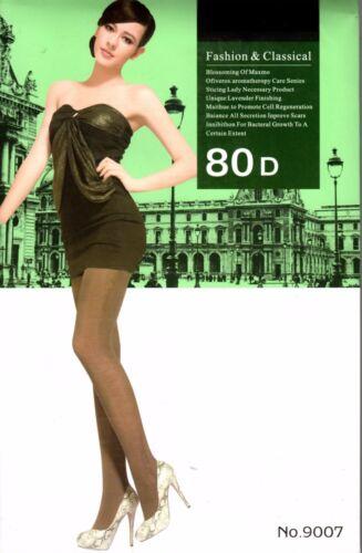 Women High Quality  Fashionable Multi Styles Gilrs Tights 80 Denier lot Ladies
