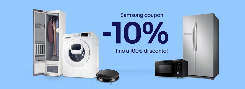 Scopri subito - Samsung coupon -10%