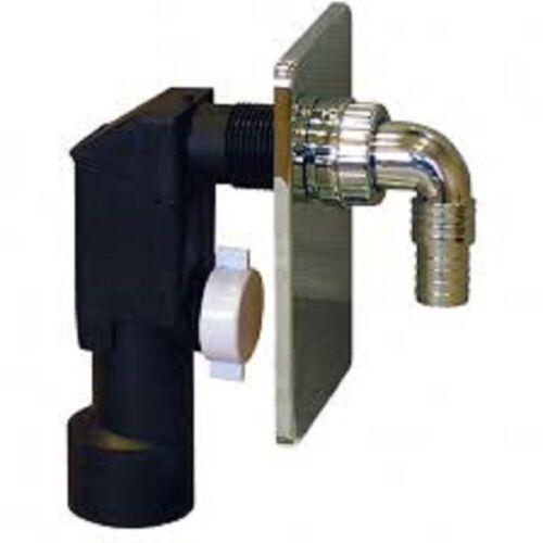 Réservoir wandabfluß Siphon dn40//50 siphon ruissellement machine à laver Lave-vaisselle