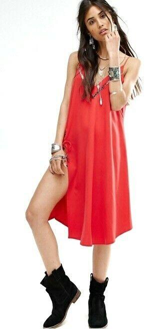 Freie Menschen All I Want OverGrößed Kleid Tunika Tanktop GRÖSSE XS NEU