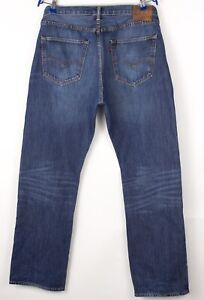 Levi's Strauss & Co Hommes 501 Jeans Jambe Droite Taille W36 L32 BCZ987