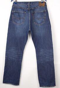 Levi's Strauss & Co Herren 501 Gerades Bein Jeans Größe W36 L32 BCZ987