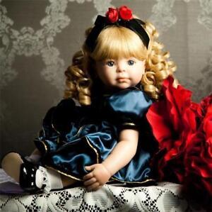 Toddler-Reborn-Princess-Baby-Girl-Dolls-Vinyl-Handmade-Lifelike-kids-gifts-20-039-039