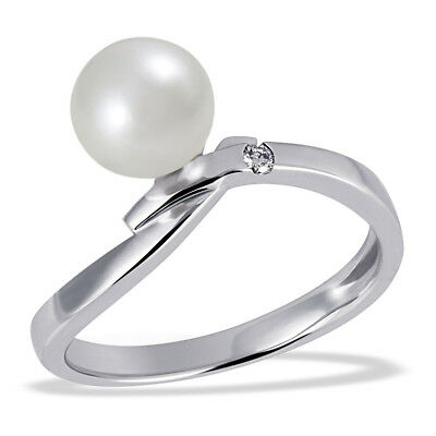Sterling silver black pearl ring size5size6size7size8size9size10size11adjustable