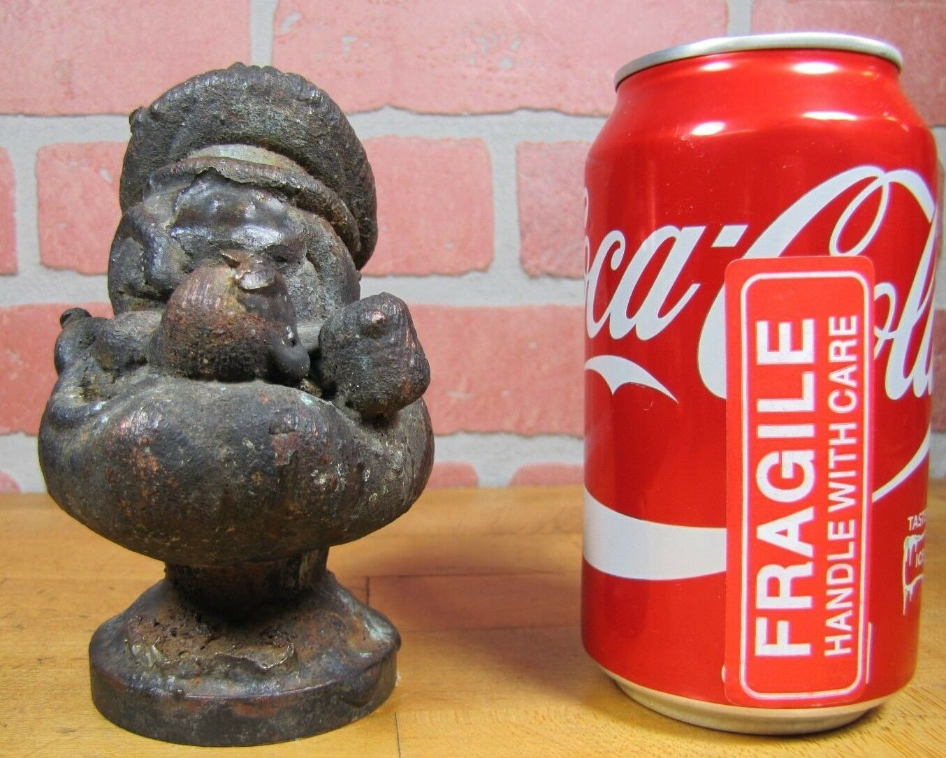Orig Old POPEYE POPEYE POPEYE The SAILOR Industrial Metal Toy Making Mold Rare HTF Pipe Hat 243316