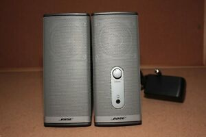Bose-Companion-2-Series-II-Multimedia-Speaker-System-w-AC-and-Sound-Cable