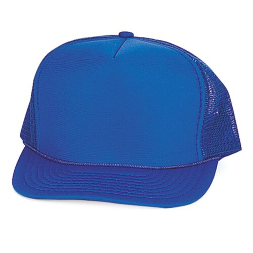 Classic Trucker Baseball Hats Caps Foam Mesh Blank Solid Two Tone Adult Youth
