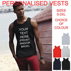 CUSTOM-PERSONALISED-ATHLETIC-MENS-VEST-STAG-HOLIDAY-T-SHIRTS