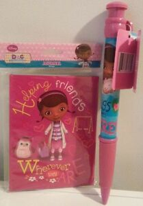 Stemple DOC MCSTUFFINS 26 PIECE STAMP AND ART SET GIRLS SCHOOL STATIONARY PENS GIFT