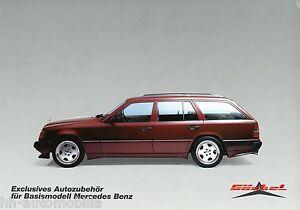 1385MB-Goeckel-Prospekt-Mercedes-300-TE-W124-T-Modell-Bildprospekt-brochure