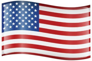 American Flag Car Sign Magnets Auto Exterior Bumper Stickers Decals 9.25in x 15i