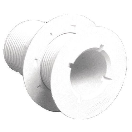 "Forespar 906004 1/"" x 2.375/"" Threaded Flush Thru-Hull Connector"