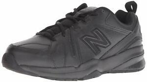 New-Balance-Mens-MX608-Low-Top-Lace-Up-Walking-Shoes-Black-Black-Size-11-0-SCE