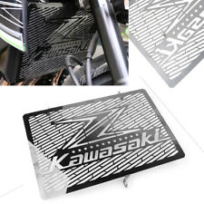 07-19 Stainless Steel Beowulf Black Radiator Rad Guard Grill Kawasaki Z1000SX