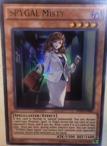 NM//M Ultra Rare Unlimited Edition 3X SPYGAL Misty  RATE-EN086 Yu-Gi-Oh!