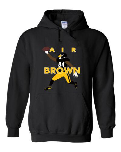 """Antonio Brown Pittsburgh Steelers /""""Air Brown Pic/""""  shirt Hooded SWEATSHIRT"""