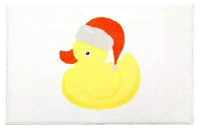 Christmas Ducky Rug 20 Inches By 30 Inches Low Pile Mat