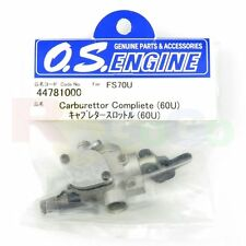 CARBURETTOR COMPLETE 60U FS-70U ULTIMATE # OS44781000 O.S. Engines Genuine Parts