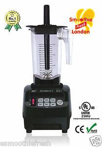 Details about JTC TM 800A Omniblend V Kitchen Blender Powerful 3hp Motor BPA FREE Jug