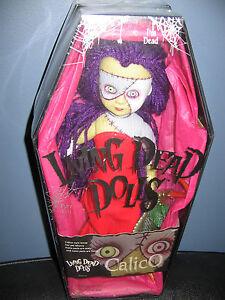 Poupées Living Dead Calico & Her Pet Muzzy Série 6 Mezco 2000 scellées en usine Nouveau!   696198999839