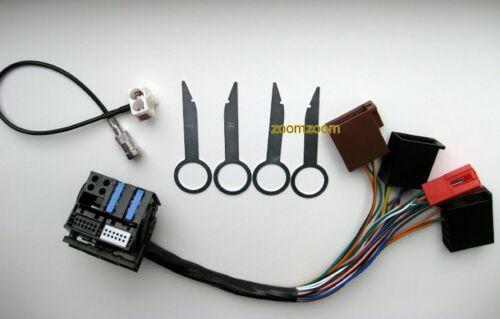 AUDI RNS-E KIT installazione Plug /& Play Adattatore antenna Diversity rilascio del STAFFA