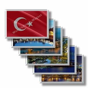TR - Turchia - frigo calamite frigorifero souvenir magneti fridge magnet