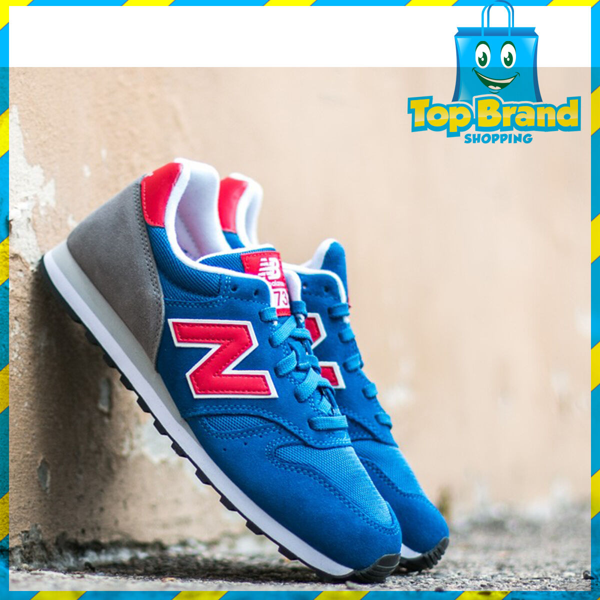 New Balance Mens Sneakers Classic Casual ML373ROR bluee D width