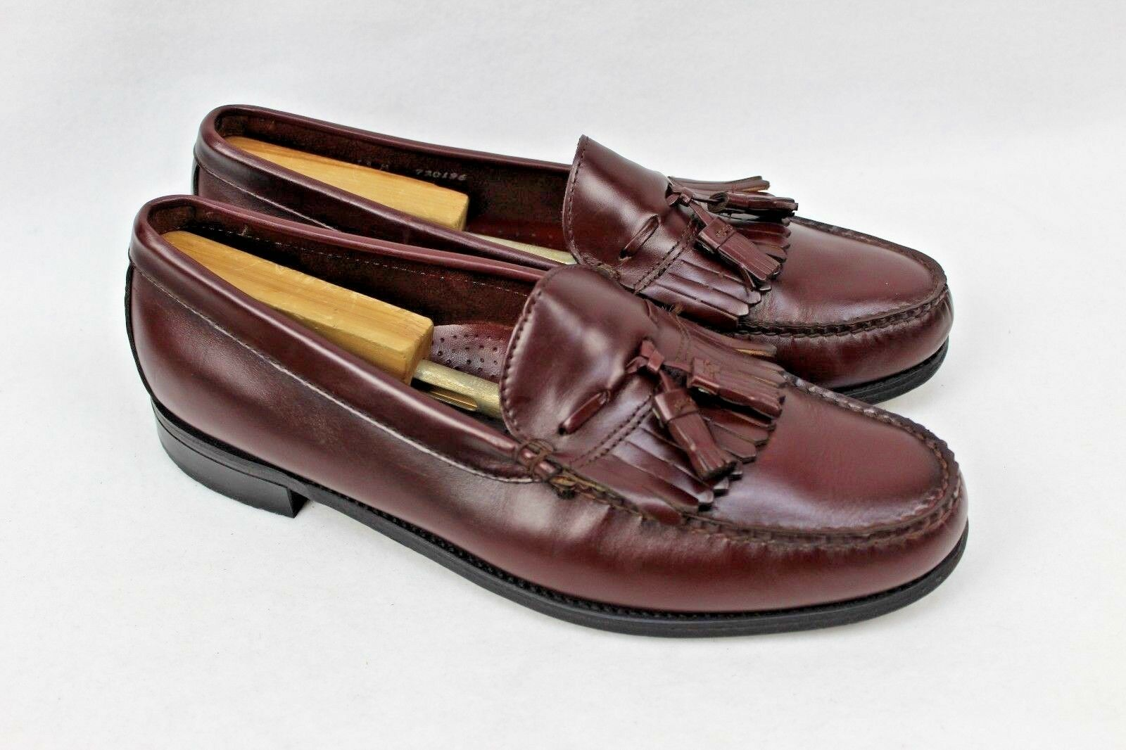DEXTER Men's Leather Burgundy-Brown Tassel Loafers Size MADE IN USA Shoe Size Loafers 13 M f3862f