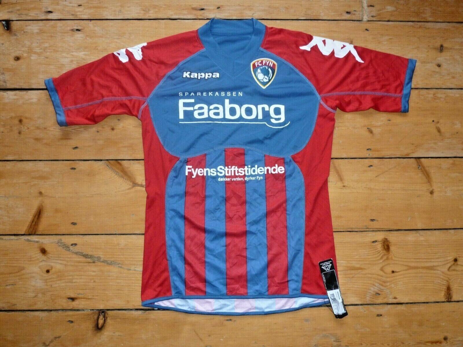 FC FYN SHIRT DENMARK COPENHAGEN Funen KAPPA HOME small