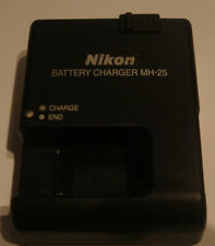 Charger ORIGINAL NIKON MH-25 en-EL15 REAL ORIGINAL NEW in France