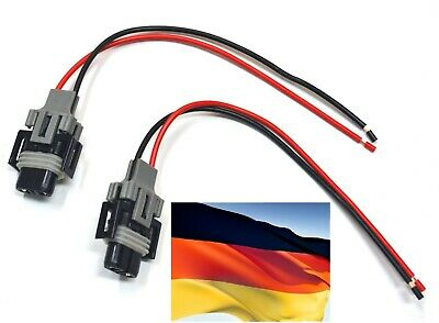 Flosser Pigtail Wire 2644 Female Socket 7443 Two Harness Front Turn Signal Plug