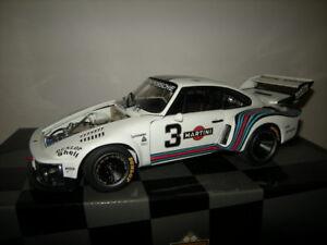1-18-exoto-Porsche-911-935-Turbo-1976-034-Martini-034-3-sold-RARE-raramente-in-scatola-originale