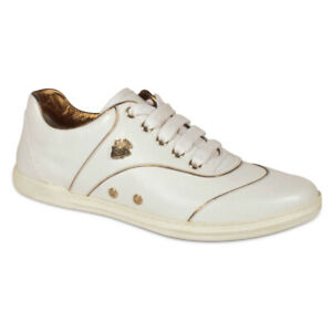$435 Gucci Leather Sneakers Women's