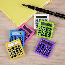 Plastic Digits LCD Display Pocket Cartoon Small Travel Mini Portable Calculator