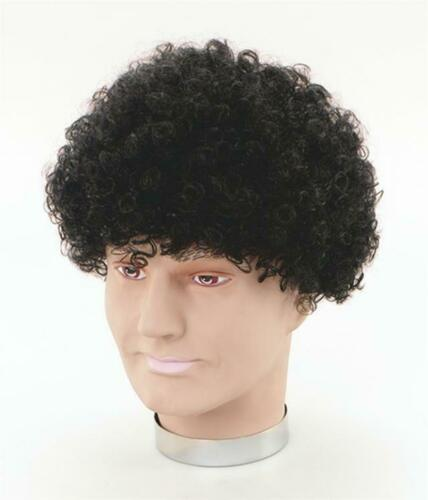 Black Afro with tight curls //Fancy Dress